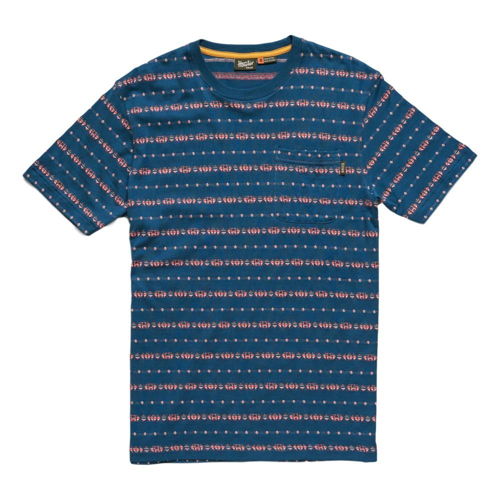 Howler Brothers Men's Portals Jacquard T-Shirt MIDBLUE