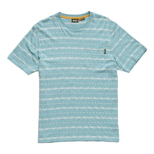 f0ad52a44d ... Howler Brothers Men's Portals Jacquard T-Shirt Seaspray