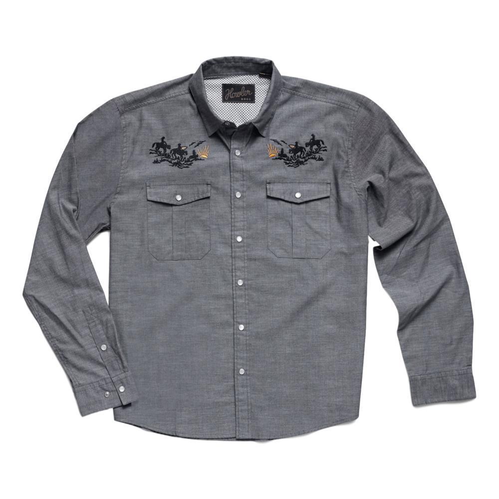 Howler Brothers Men's Gaucho Howler Posse Snapshirt BLUEOX