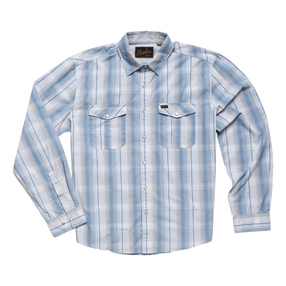 Howler Brothers Men's Gaucho Thornton Plaid Snapshirt STOBLUE