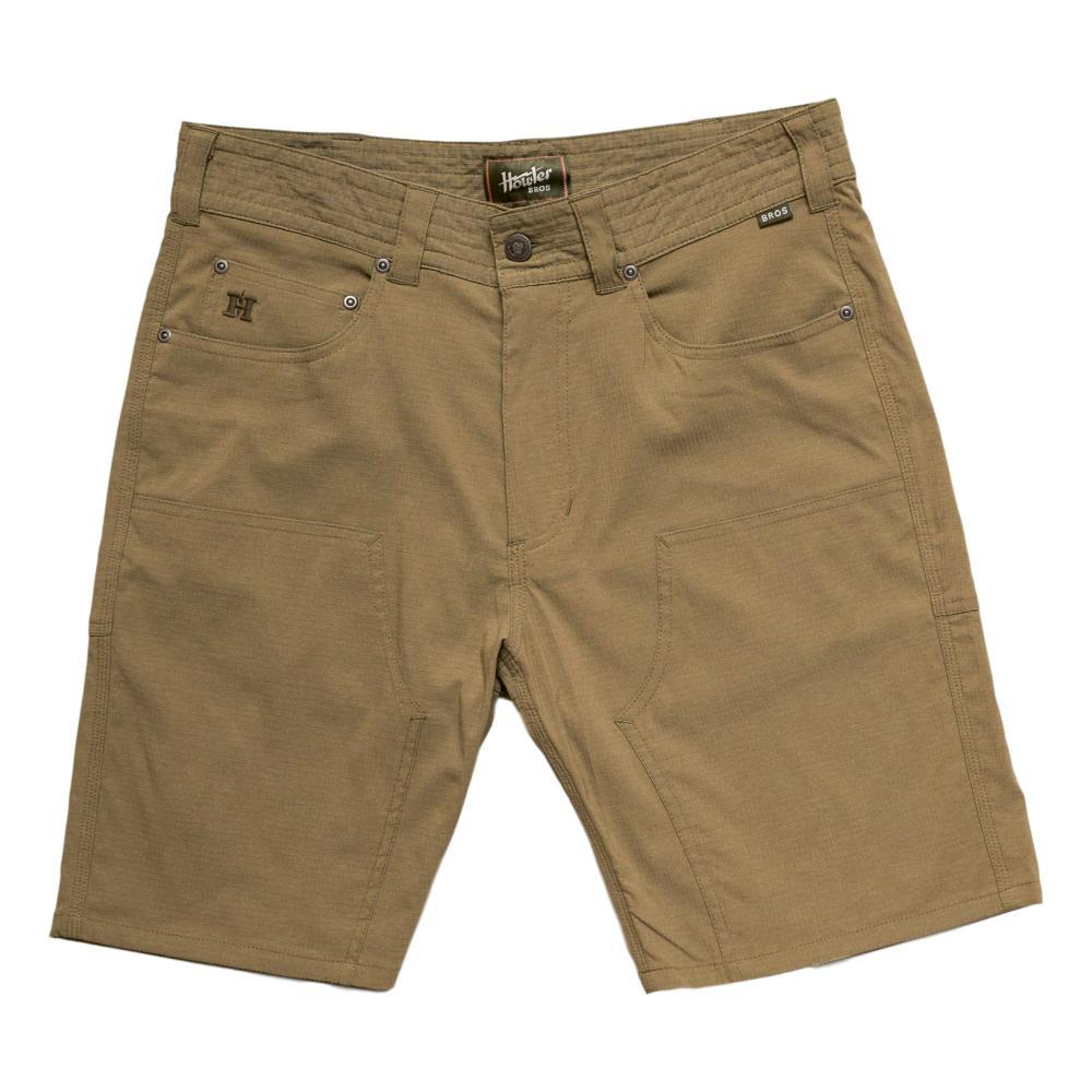 Howler Brothers Men's Waterman's Work Shorts SOLGRN