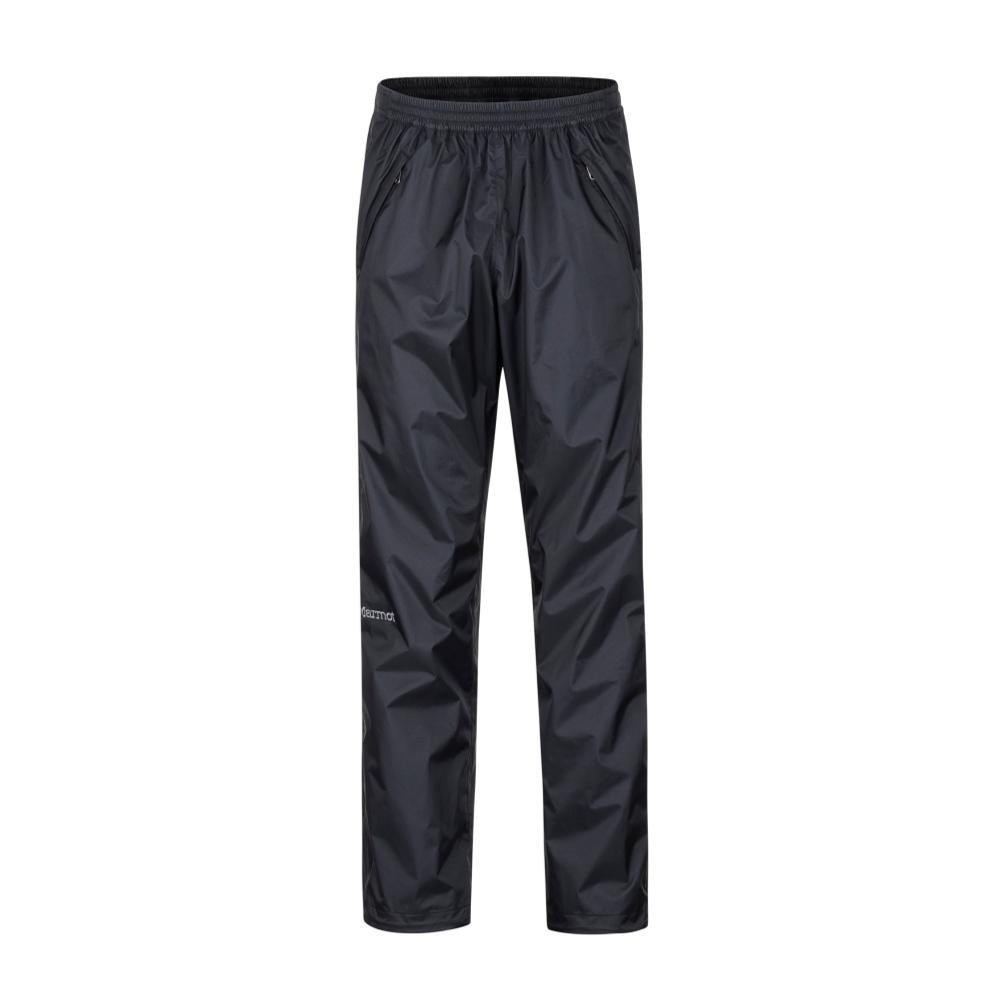 Marmot Men's PreCip Eco Full Zip Pants - 32in inseam BLACK001
