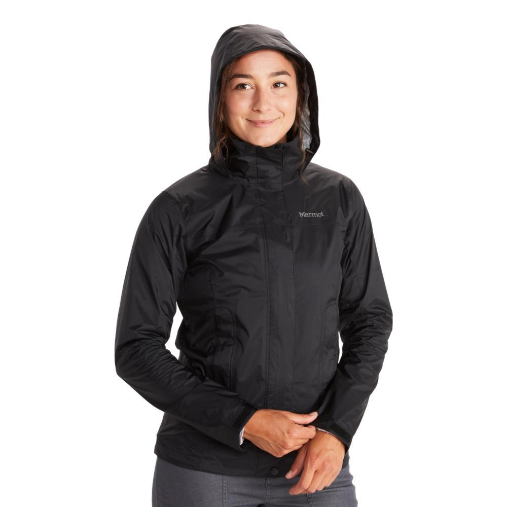 Marmot Women's PreCip Eco Jacket BLACK001