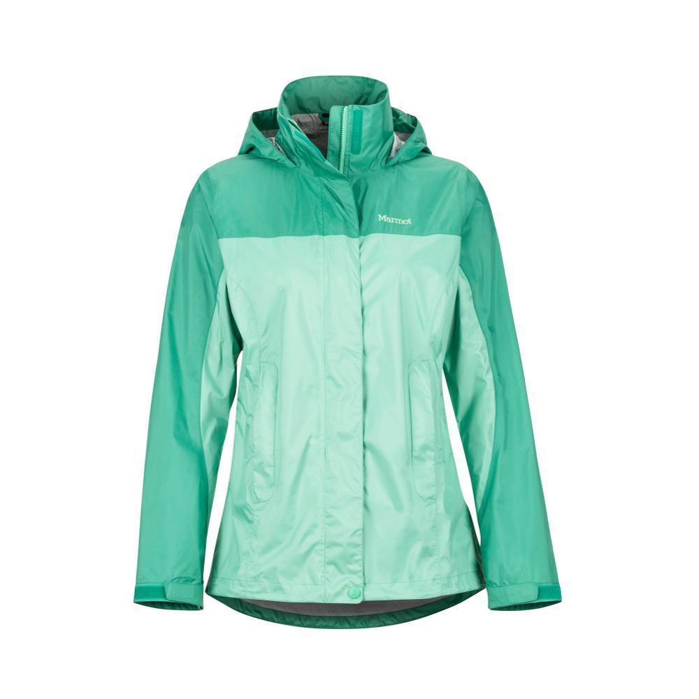 Marmot Women's PreCip Eco Jacket DOUBLEMINTVERDE4851