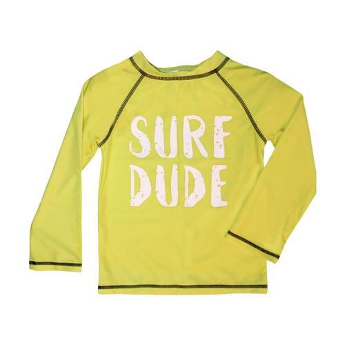 27c7438f02aa4 Mary Elyse Kids Dalton Long Sleeve Rashguard Yellow