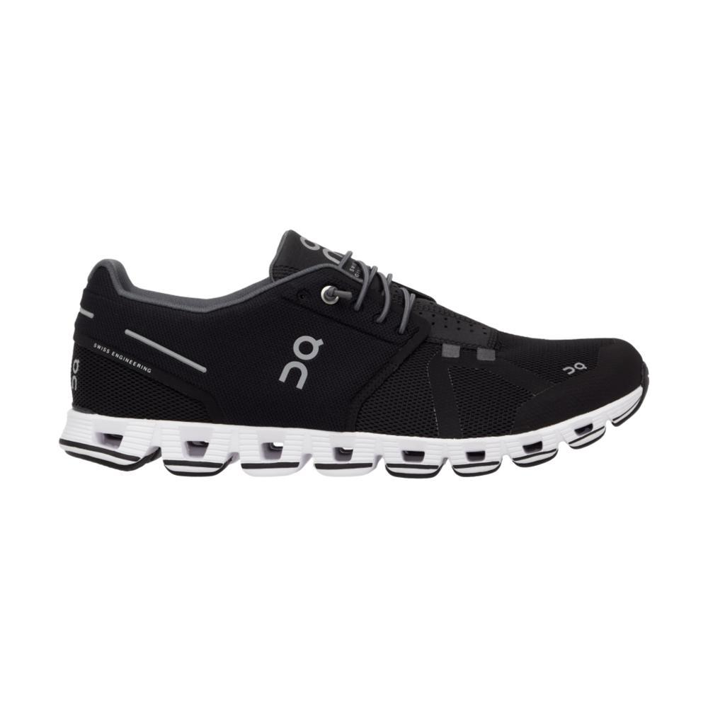 On Men's Cloud Running Shoes BLK.WHT