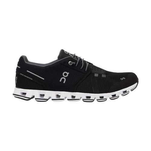 On Men's Cloud Running Shoes Blk.Wht