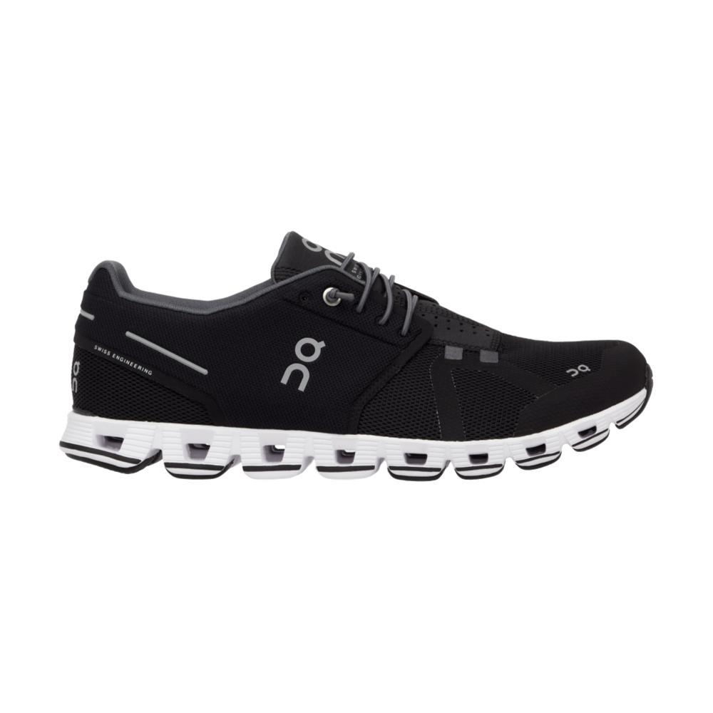On Women's Cloud Running Shoes BLK.WHT