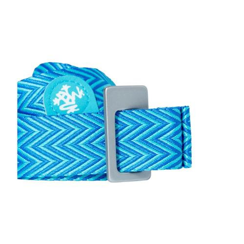 Manduka Go Move Mat Carrier - Pacific Blue Pacific_blue