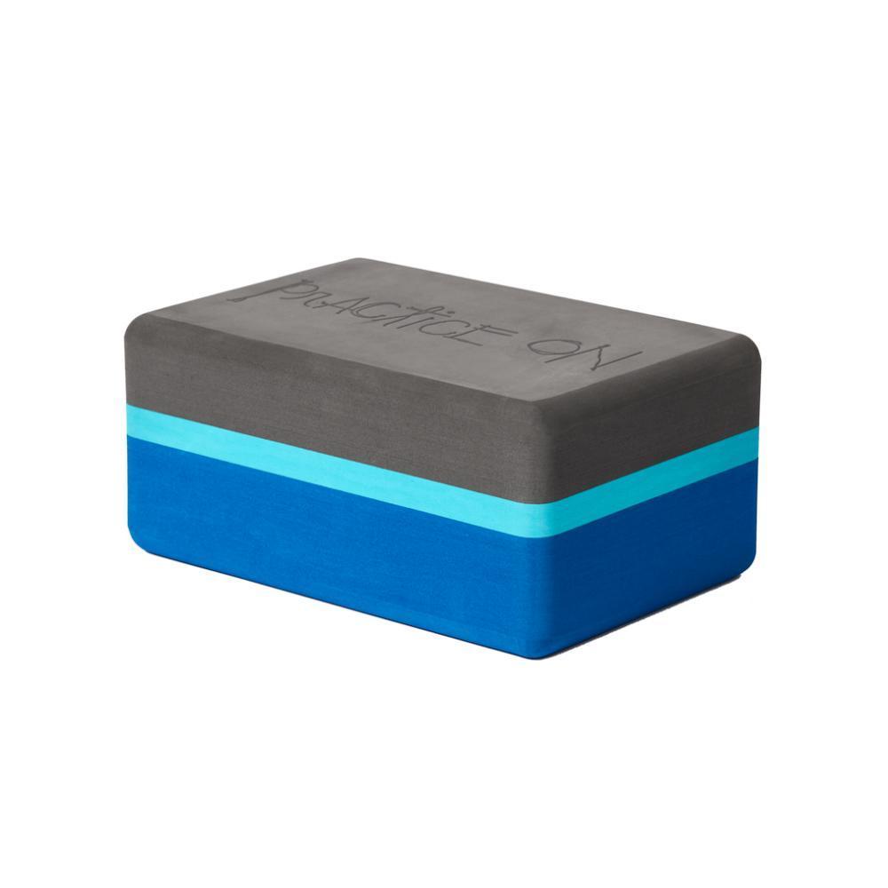 Manduka Recycled Foam Yoga Block - Pacific Blue PACIFIC_BLUE