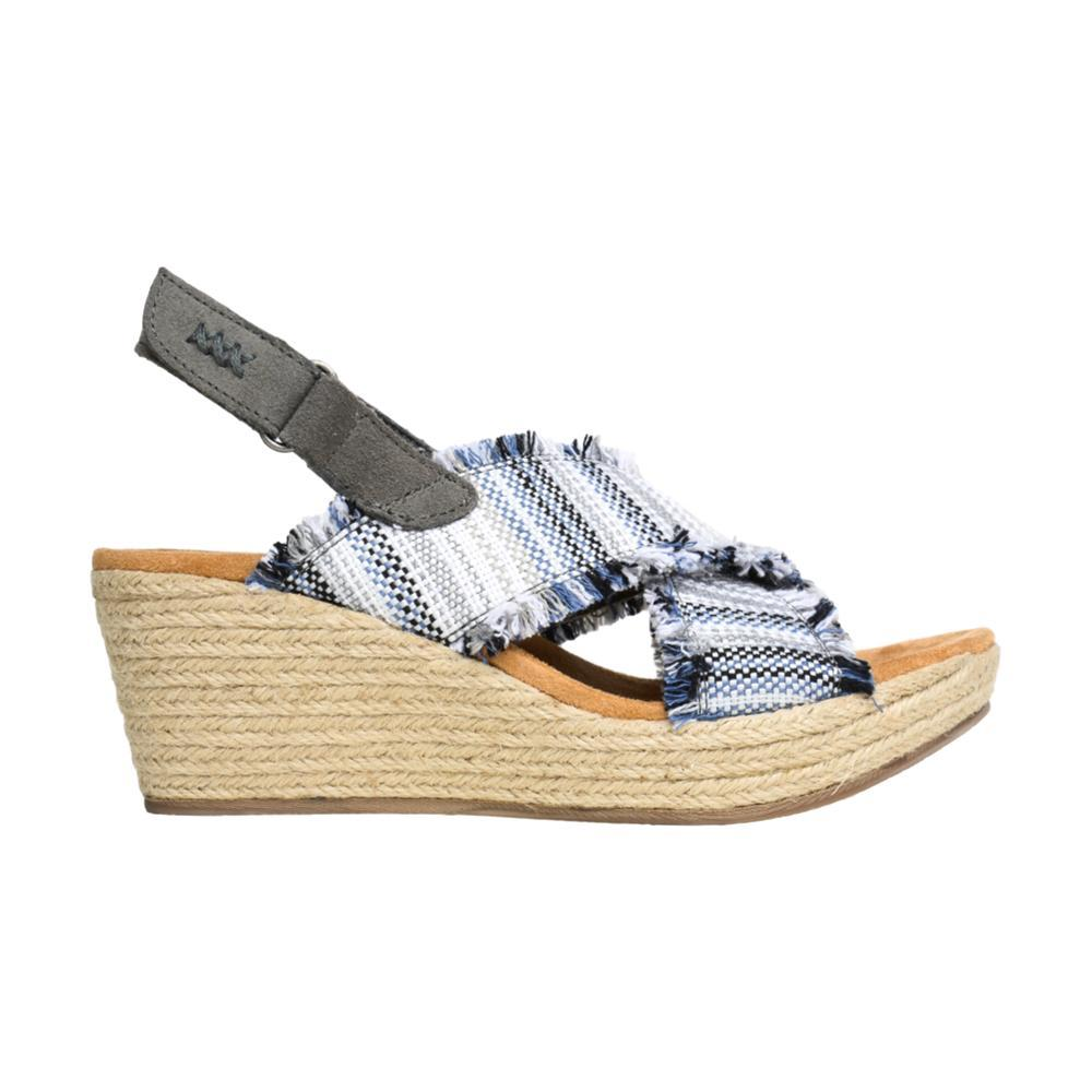 Minnetonka Women's Breeze Wedge Sandals GREY.PRT_GLF
