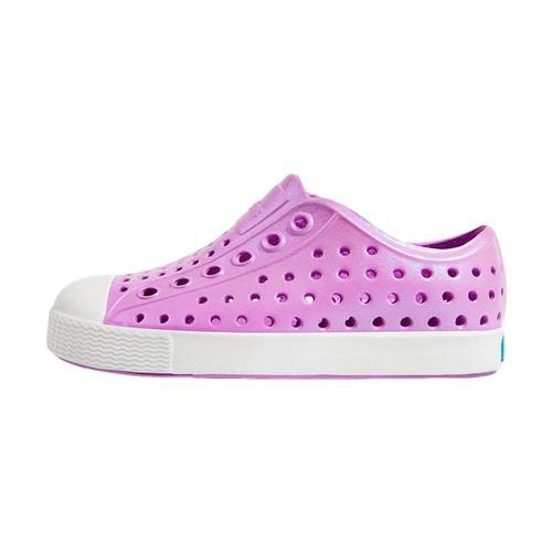 Native Kids Jefferson Iridescent Shoes Lavpurple