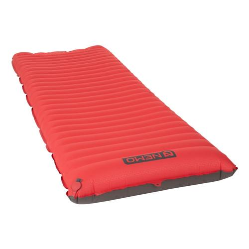 NEMO Cosmo 3D Large Sleeping Pad Red