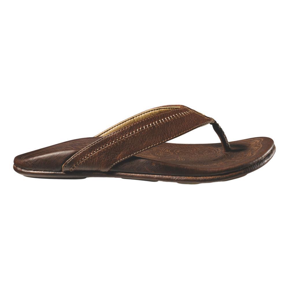 OluKai Men's Hiapo Sandals TEAK.TEAK_2222
