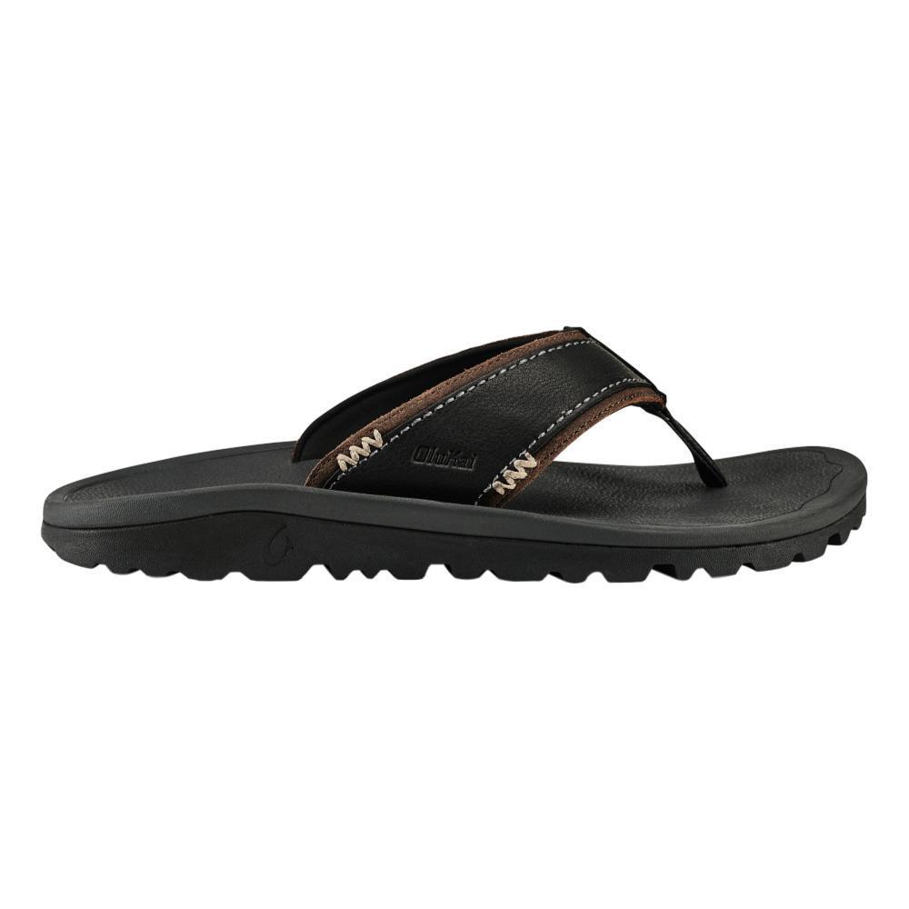 OluKai Men's Kua'aina Sandals BLK.DKSHD_406C