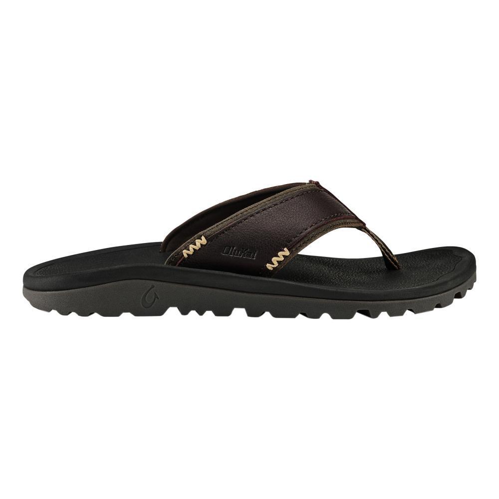 OluKai Men's Kua'aina Sandals DKWD.BLK_6340