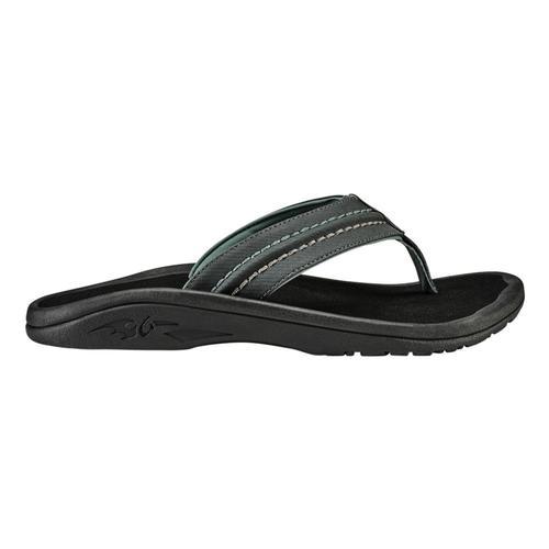 OluKai Men's Hokua Sandals Dkshd.Blk_6c40