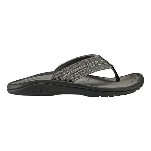 OlukKai Men's Hokua Mesh Sandals Cly.Char_1026