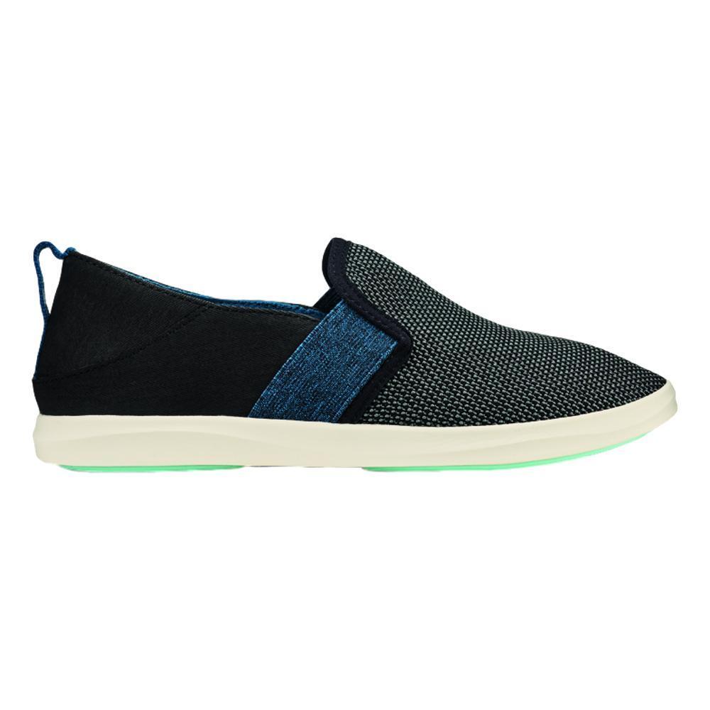 OluKai Women's Hale'iwa Shoes BLK.TEL_403T