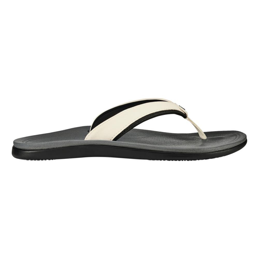 OluKai Women's Punua Sandals WHT.CHAR_4R26