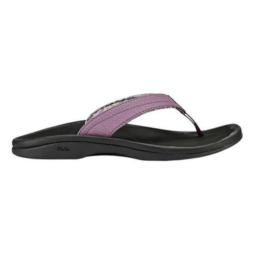 OluKai Women's 'Ohana Sandals Mauv.Blk_5q40