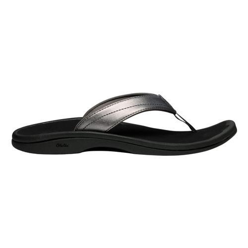 OluKai Women's 'Ohana Sandals Pwtr.Blk_7340