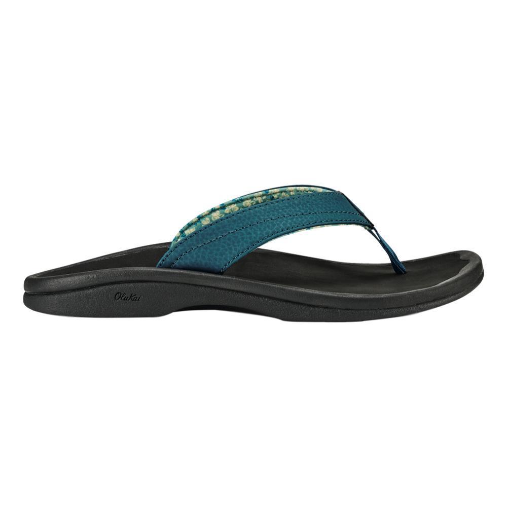 OluKai Women's 'Ohana Sandals TEAL.BLK_3T40
