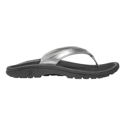 OluKai Girls Kulapa Kai Sandals Slvr_2k40