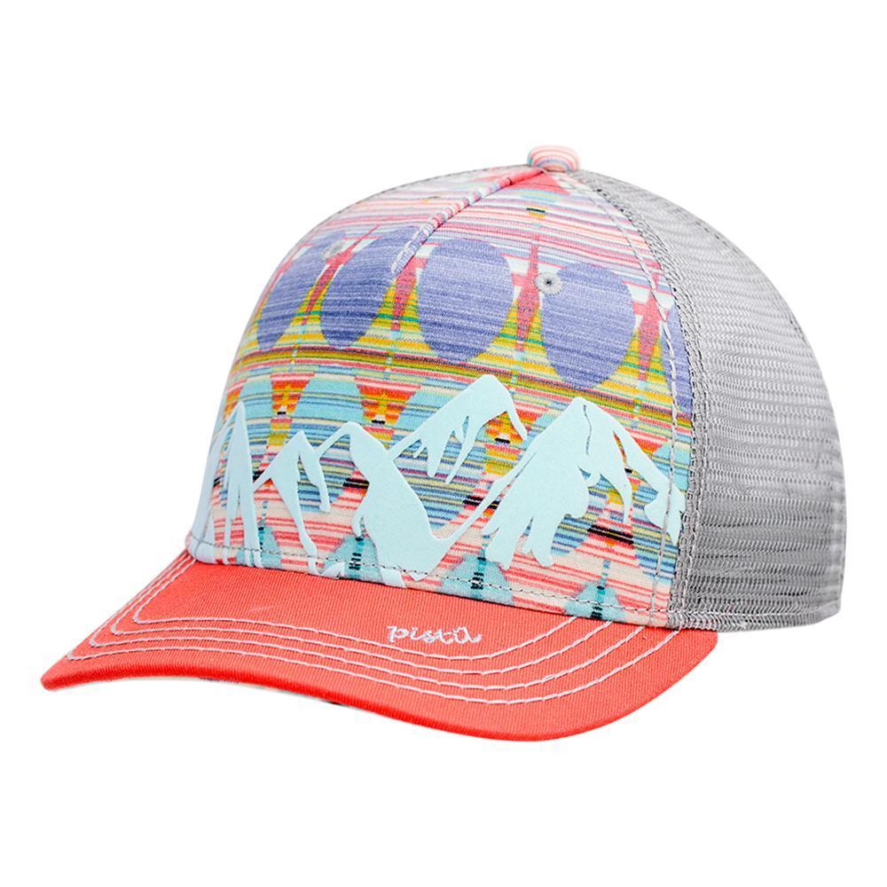 Pistil Women's McKinley Trucker Hat CORAL_COR