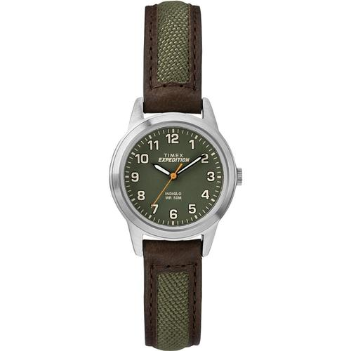 Timex Expedition Field Mini 26mm Leather Strap Watch Leather