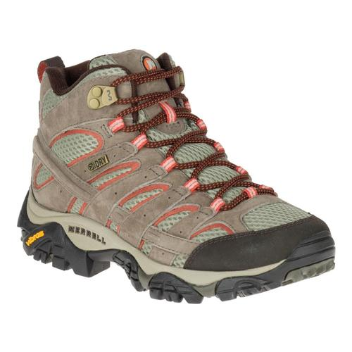Merrell Women's Moab 2 Mid Waterproof Boots Bungeecord
