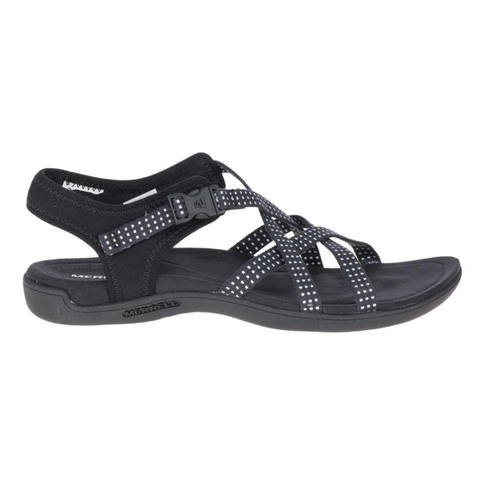 Merrell Women's District Muri Lattice Sandals BLACK