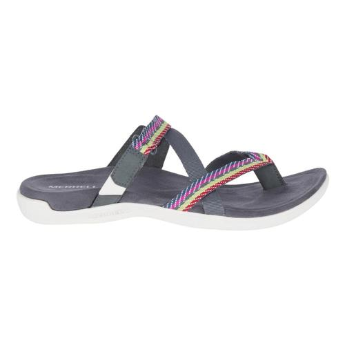 Merrell Women's District Mendi Thong Sandals Turblncgry