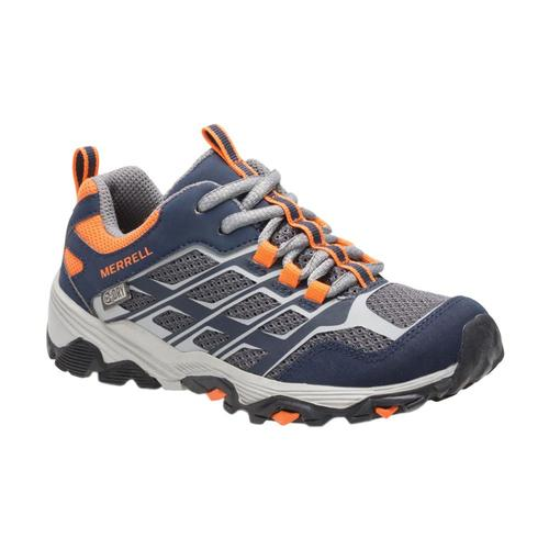 Merrell Kids Moab FST Low Waterproof Shoes Nvyorng