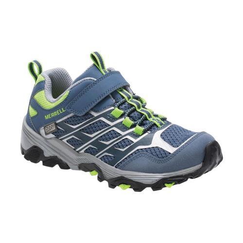 Merrell Kids Moab FST Low A/C Waterproof Sneakers Grygreen