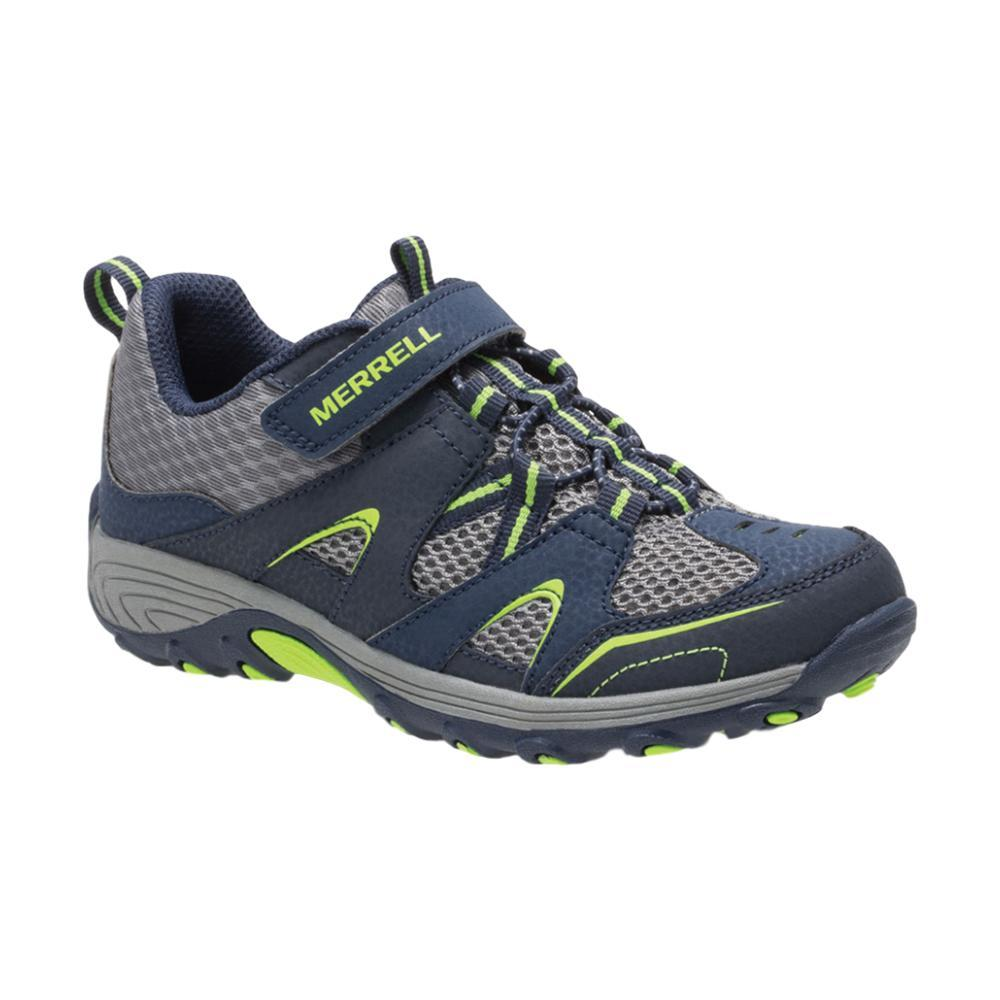 Merrell Big Kids Trail Chaser Shoes NVYGREEN