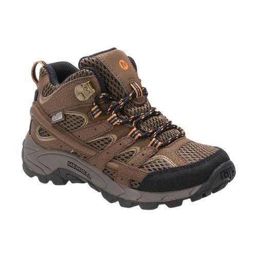 Merrell Big Kids Moab 2 Mid Waterproof Boots Earth