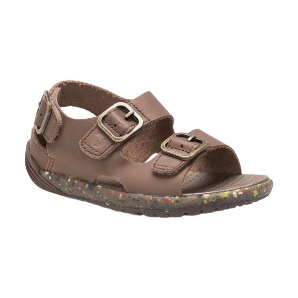 Merrell Little Kids Bare Steps Sandals BROWN