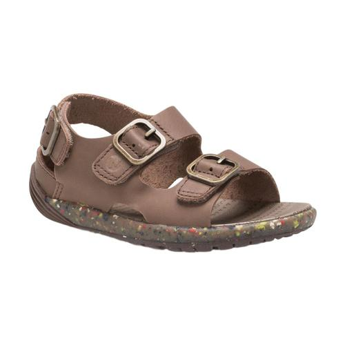 Merrell Little Kids Bare Steps Sandals Brown