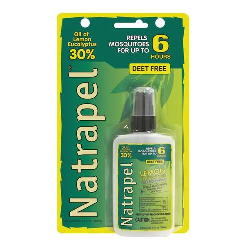 Natrapel Lemon Eucalytuptus Insect Repellent - 3.4oz .