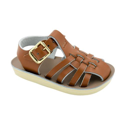 Hoy Shoe Co Kids Sun-San Sailor Sandals Tan