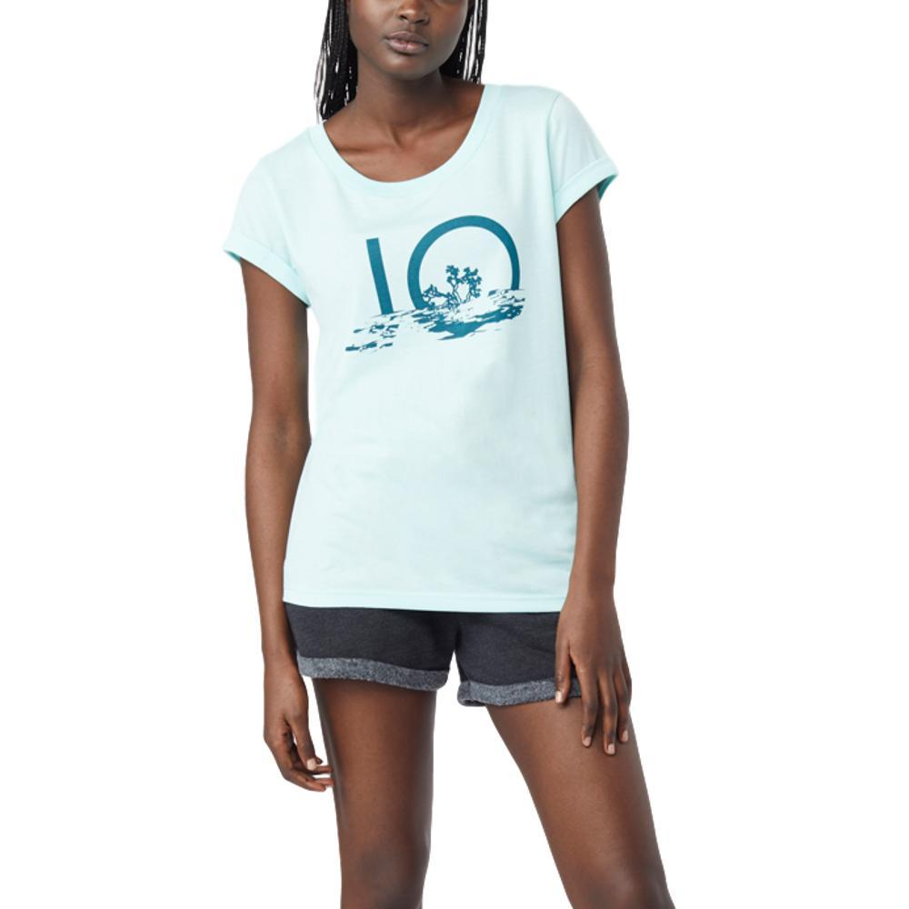 tentree Women's Reflec Ten T Shirt BLUTNT_BLU