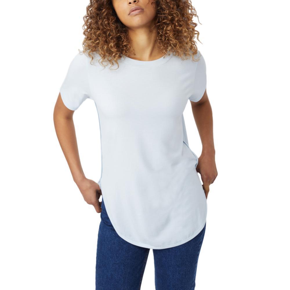 tentree Women's Cascade T Shirt SKYWAY