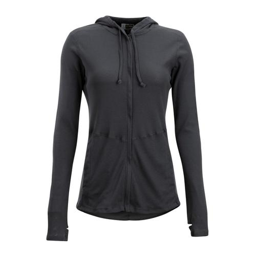 ExOfficio Women's BugsAway Lumen Full Zip Hoody Carbon_9703