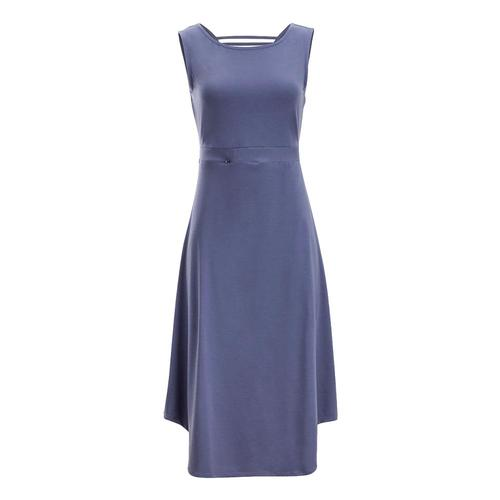 ee6ee3dec ... ExOfficio Women's Wanderlux Alessandria Dress Blueheron