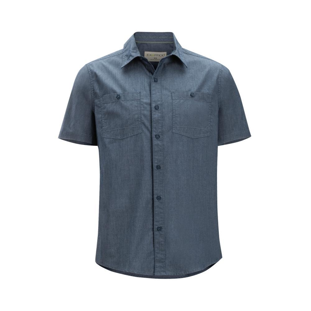 ExOfficio Men's Gaillac Short Sleeve Shirt NAVY