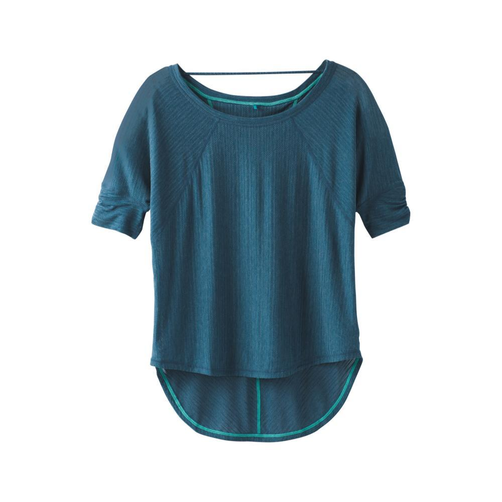 prAna Women's Helani Top Plus PETROLBLUE