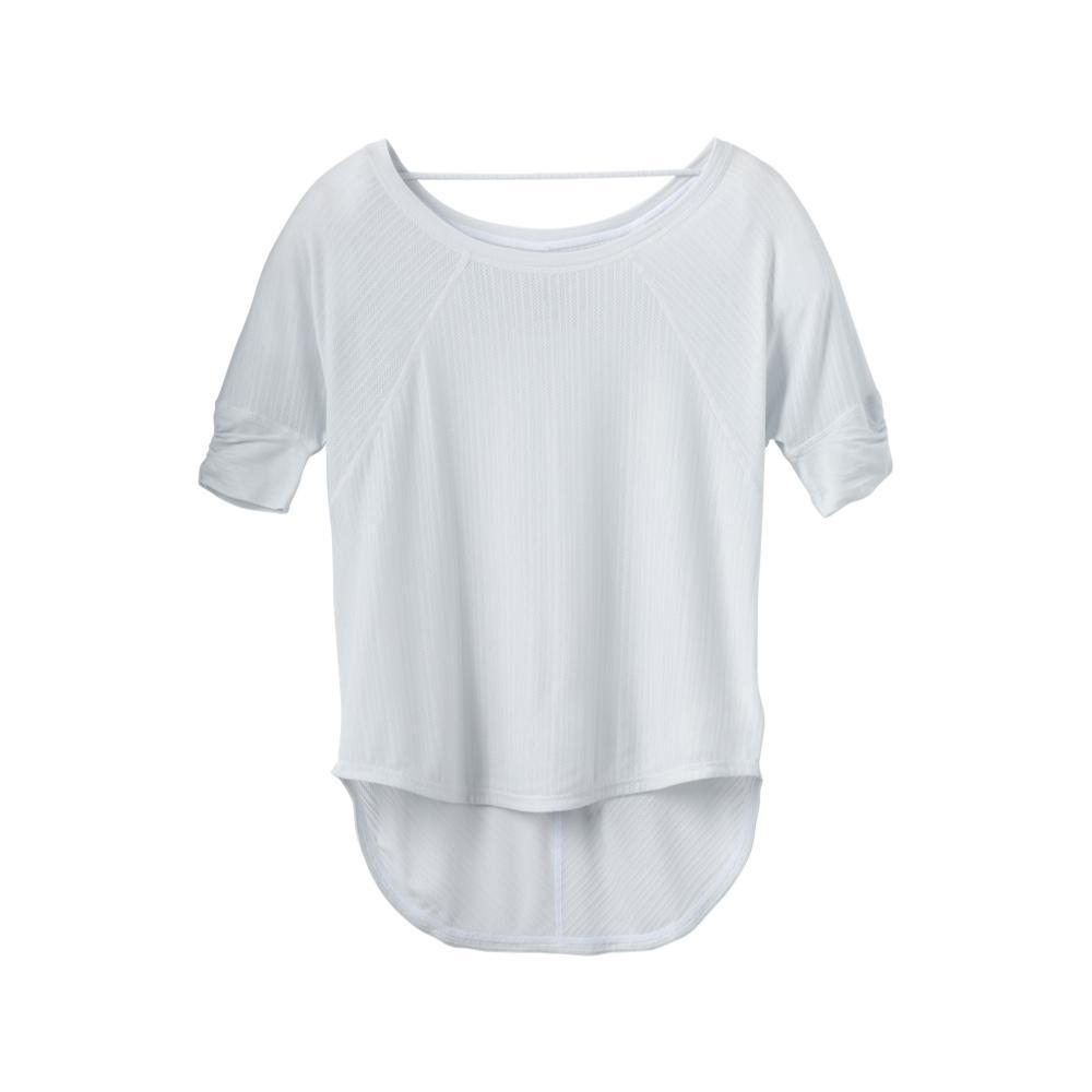 prAna Women's Helani Top Plus SILVER