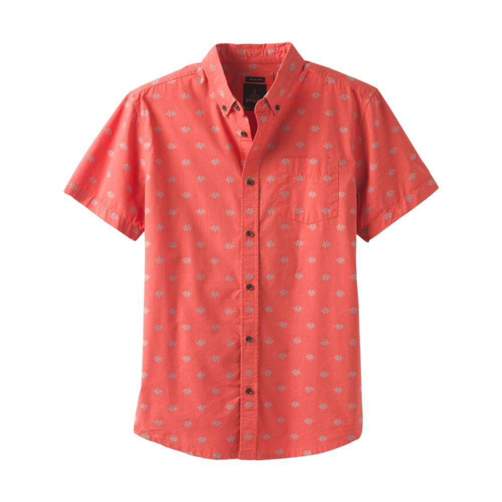 prAna Men's Broderick Short Sleeve Shirt - Slim KOI