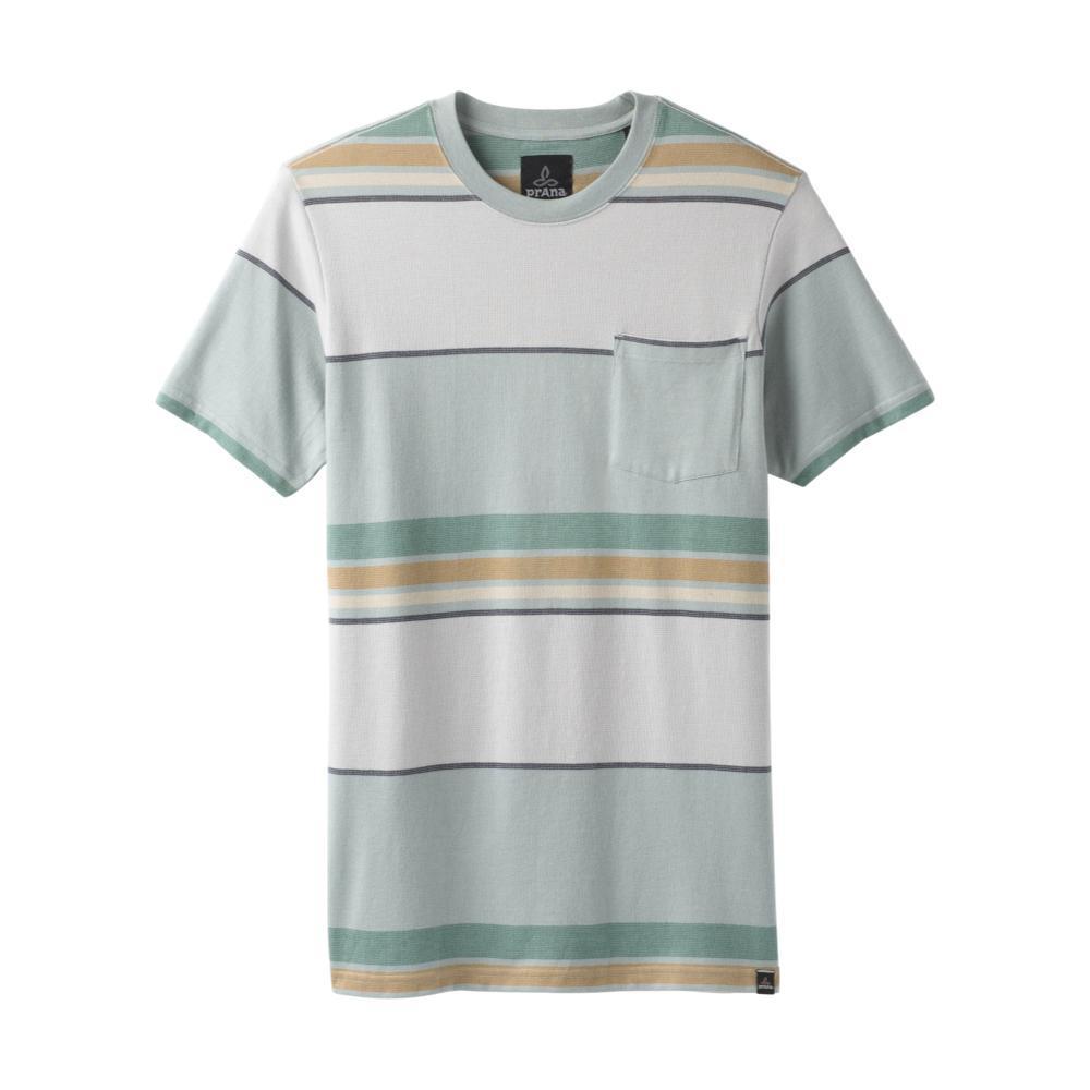 prAna Men's Dominic Crew Shirt AGAVE